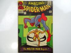 AMAZING SPIDER-MAN #35 - (1966 - MARVEL - UK Price Variant) - Second appearance of the Molten