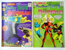 SHOWCASE #55 & 56 (2 in Lot) - (1965 - DC - UK Cover Price) - First solo appearance by the Golden