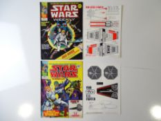 STAR WARS WEEKLY #1 & 2 - (2 in Lot) - (MARVEL UK - 1978) - Includes #1 (includes free gift - unmade
