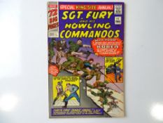 SGT. FURY AND HIS HOWLING COMMANDOS: KING-SIZE ANNUAL #1 - (1965 - MARVEL - UK Price Variant) -