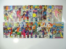 WEST COAST AVENGERS - (25 in Lot) - (1988/90 - MARVEL) - Includes issues #34, 40, 41, 42, 43, 44,