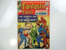 FANTASTIC FOUR #27 - (1964 - MARVEL - UK Price Variant) - Dr. Strange in his first crossover