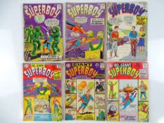 SUPERBOY #86, 89, 98, 129 & GIANT-SIZE ANNUAL #1, 10 - (6 in Lot) - (1961/66 - DC - UK Cover
