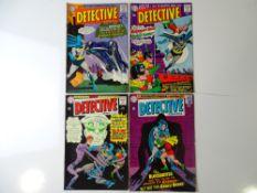 DETECTIVE COMICS: BATMAN #340, 342, 343, 345 (4 in Lot) - (1965 - DC - UK Cover Price) - Flat/