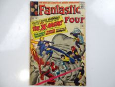 FANTASTIC FOUR #28 - (1964 - MARVEL - UK Price Variant) - Early X-Men crossover - The Mad