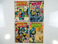 DETECTIVE COMICS: BATMAN #327, 328, 329, 330 (4 in Lot) - (1964 - DC - UK Cover Price) - Flat/