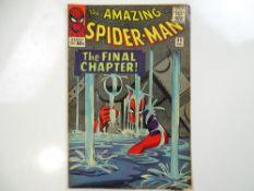 AMAZING SPIDER-MAN #33 - (1966 - MARVEL - UK Price Variant) - Spider-Man battles Doctor Octopus -