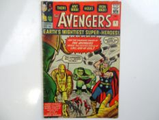 AVENGERS #1 - (1963 - MARVEL - UK Price Variant) - First appearance of the Avengers with original