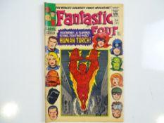 FANTASTIC FOUR #54 - (1966 - MARVEL - UK Price Variant) - First appearance of the Evil Eye + Black