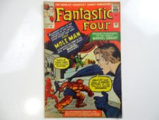 FANTASTIC FOUR #22 - (1963 - MARVEL - UK Price Variant) - Mole Man appearance - Jack Kirby cover and