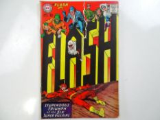 FLASH #174 - (1967 - DC - UK Cover Price) - Barry Allen reveals his secret identity to Iris +