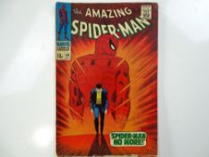AMAZING SPIDER-MAN #50 - (1967 - MARVEL - UK Price Variant) - Classic Cover - First appearance of
