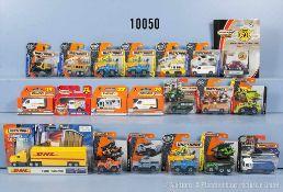 Konv. ca. 200 Matchbox Metal Modellfahrzeuge dabei landwirtschaftliche Fahrzeuge, Lkw, Pkw,