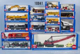 Konv. 16 Siku Modellfahrzeuge, dabei 1807, 1829, 1831, 1834, 1840, 1841, 1842, 1853, 1859, 1864,