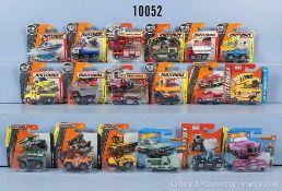 Konv. ca. 200 Matchbox Metal Modellfahrzeuge dabei Pkw, Nutzfahrzeuge, Einsatzfahrzeuge, Lkw usw.,