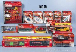 Konv. über 100 Majorette, Modellfahrzeuge, dabei Hubschrauber, Lkw, Straßenbahnen, Einsatzfahrzeuge,
