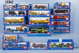 Konv. 20 Siku Modellfahrzeuge, dabei 1813, 1829, 2 x 1831, 2 x 1834, 1837, 1838, 2 x 1841, 1847,