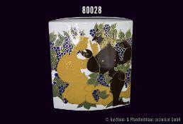 Rosenthal Porzallan Vase, studio-linie, 100 Jahre Rosenthal, hergestellt im Jubiläumsjahr, Entwurf