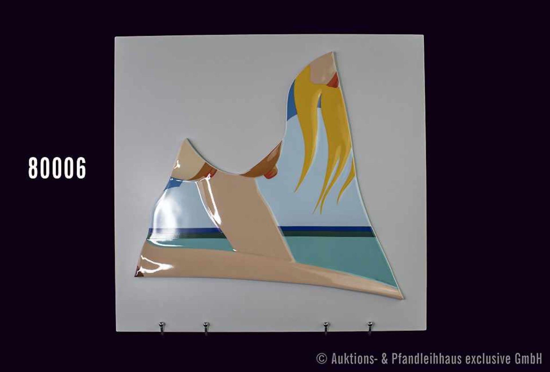 """Rosenthal Jahresobjekt in Porzellan """"Seascape"""", limitierte Reihe von 500 Stück, Küstler Tom"""