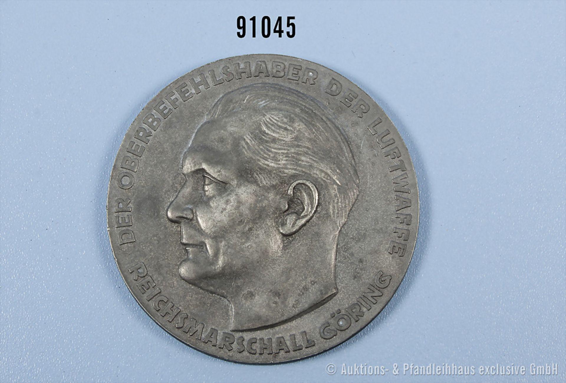 Medaille für ausgezeichnete Technische Leistungen, Luftwaffe 2. WK, Zinkausf., D ca. 7,5 cm, guter