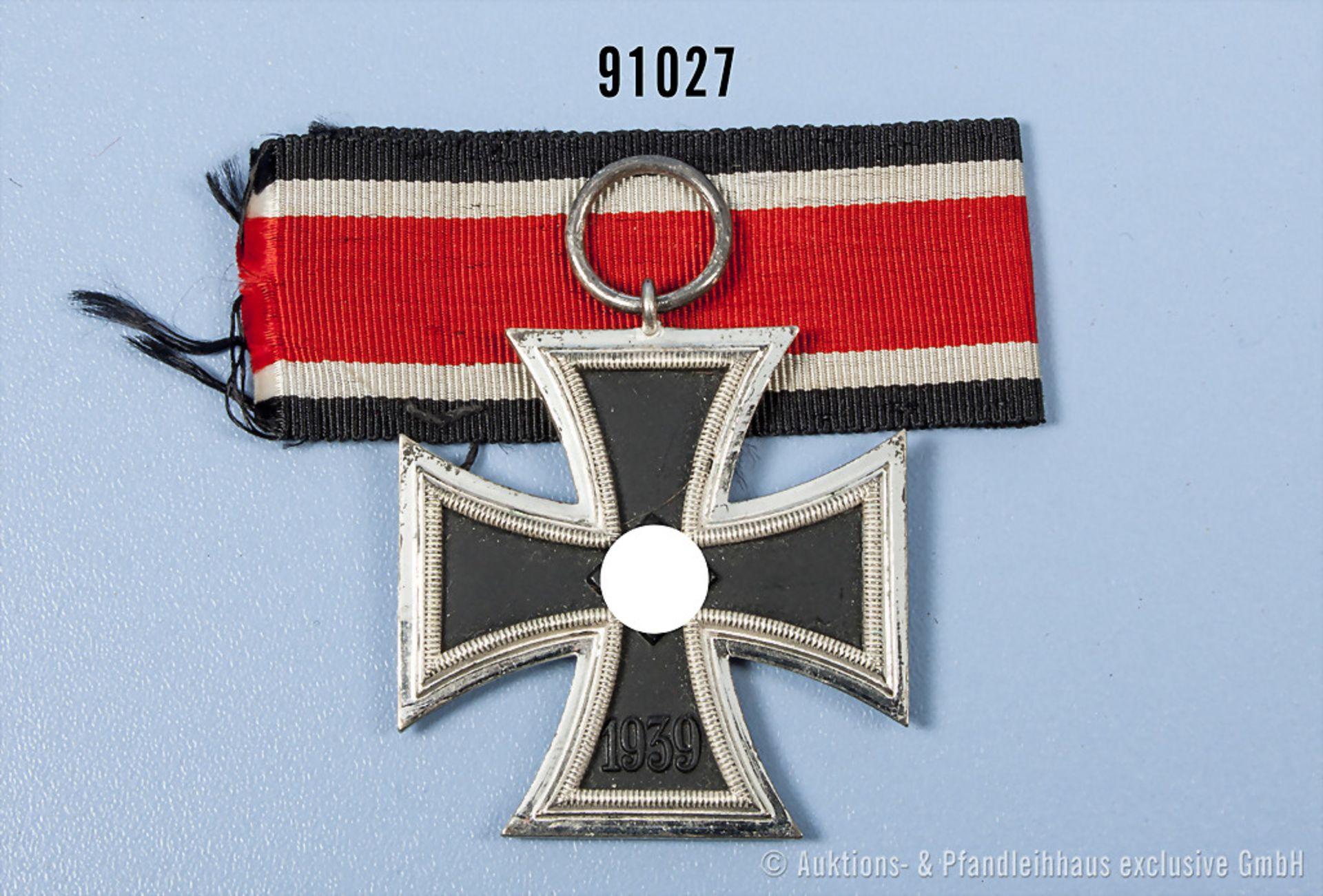 """EK 2 1939, Hersteller """"L/11"""" im Bandring, guter Zustand"""