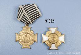 Konv. Preußischer Landeskriegerverband, Kriegerverein-Ehrenkreuz 1. und 2. Klasse, guter Zustand