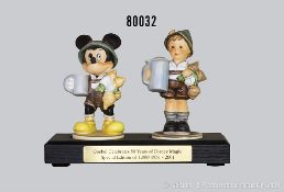 Konv. 2 Goebel Hummelfiguren, Goebel Celebrates 50 Years of Disney Magic Special Edition of 1,000