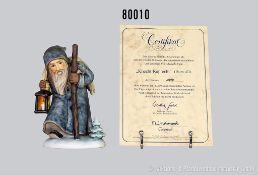 """Goebel Hummel Figur 473 """" Knecht Ruprecht"""", limit. Edition von 20.000 Stück, hier Nr. 10994 (mit"""