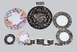 """Konv. 27 Teile Villeroy & Boch """"Gallo"""" Porzellan, dabei 7 Teile Dekor Corolla, 6 Speiseteller und"""