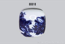 Rosenthal Porzellan, Vase Rosenthal studio-linie, Serie Taschenvase, Motiv Kobalddekoration blaue