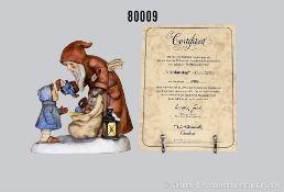 """Goebel Hummel Figuren 2012 """"Nikolaustag"""", limit. Edition von 20.000 Stück, hier Nr. 10994 (mit"""