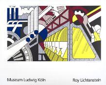 Roy Lichtenstein Museum Ludwig Koln, affiche en couleurs, 70 x 90 cm - - Roy [...]