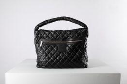 Chanel - Big Shoulder Bag - Big Shoulder Bag - Black quilted leather shoulder bag, [...]
