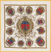Hermès - Foulard Les Armes de Paris - Foulard Les Armes de Paris - Silk twill scarf [...]