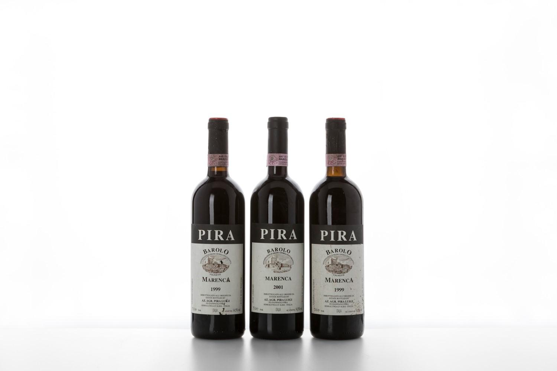 Barolo / Pira Marenca - Piemonte - 1999 (2 bts) 2001 (2 bts) Tot: 4 bts -