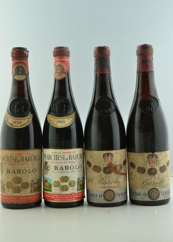Barolo / Selection of Barolo - Piemonte - Barolo Serafino 1958 (1 bt) Barolo [...]
