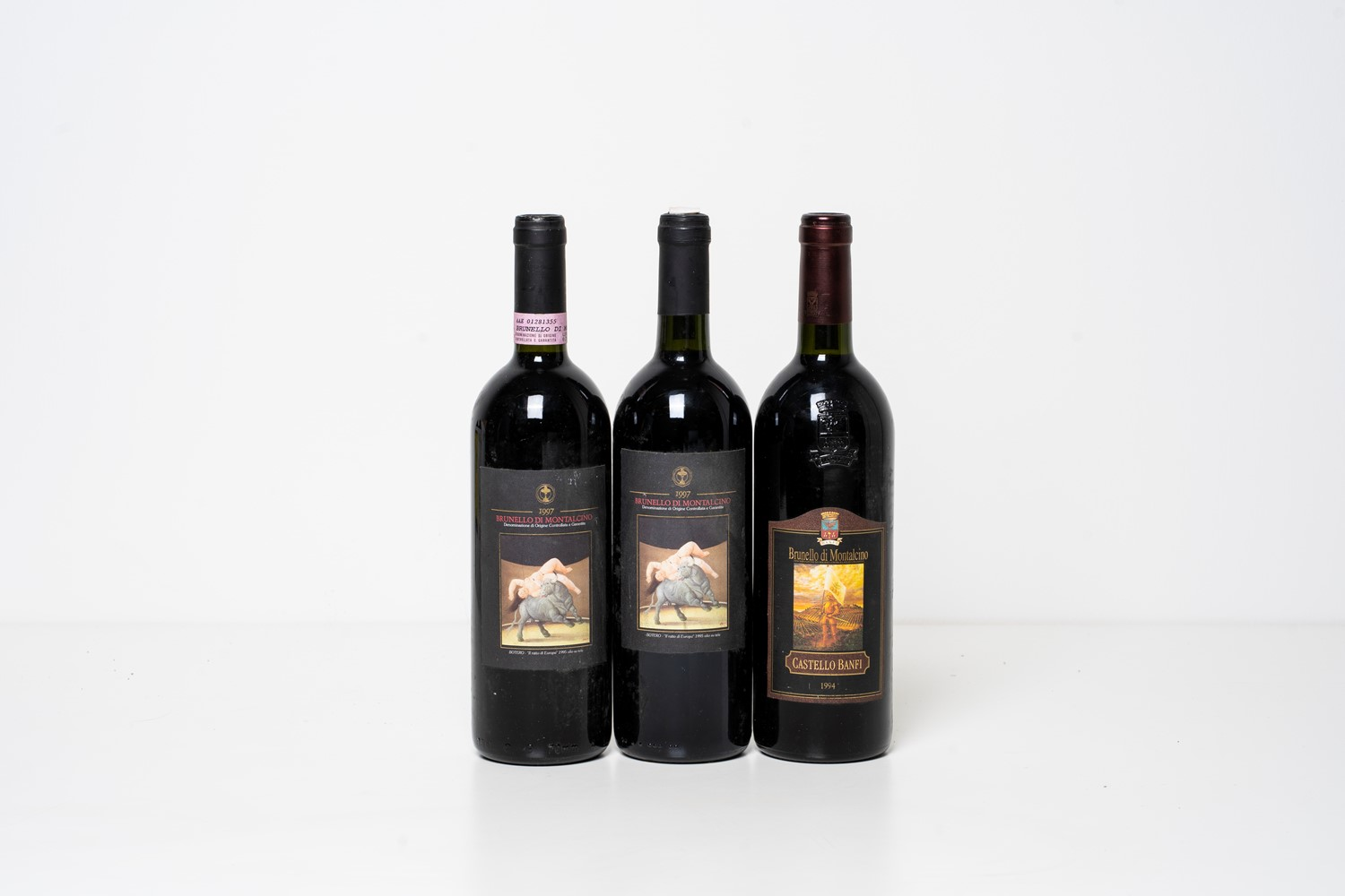 Brunello di Montalcino / Selection of Brunello di Montalcino - Toscana - Castello [...]