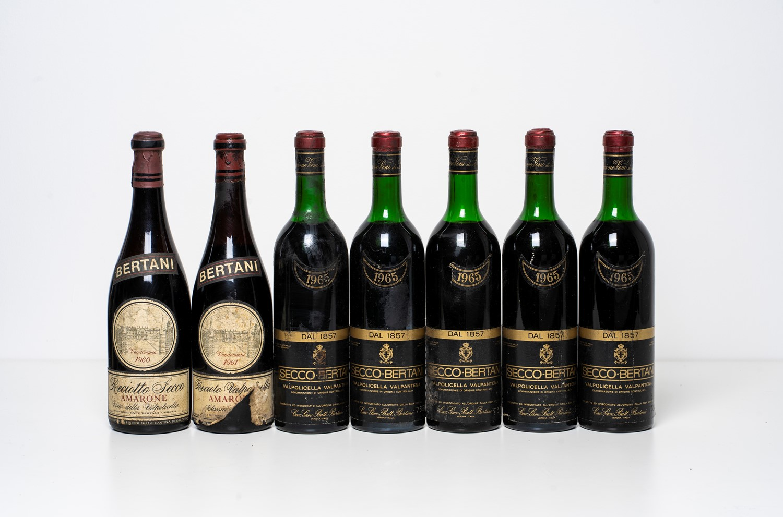 Amarone / Selection of Bertani Valpolicella - Veneto - Valpolicella 1965 (5 [...]