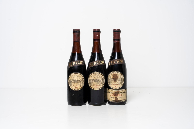 Amarone / Bertani Amarone della Valpolicella 1965 - Veneto - 3 bts - Notes: - 3 [...]