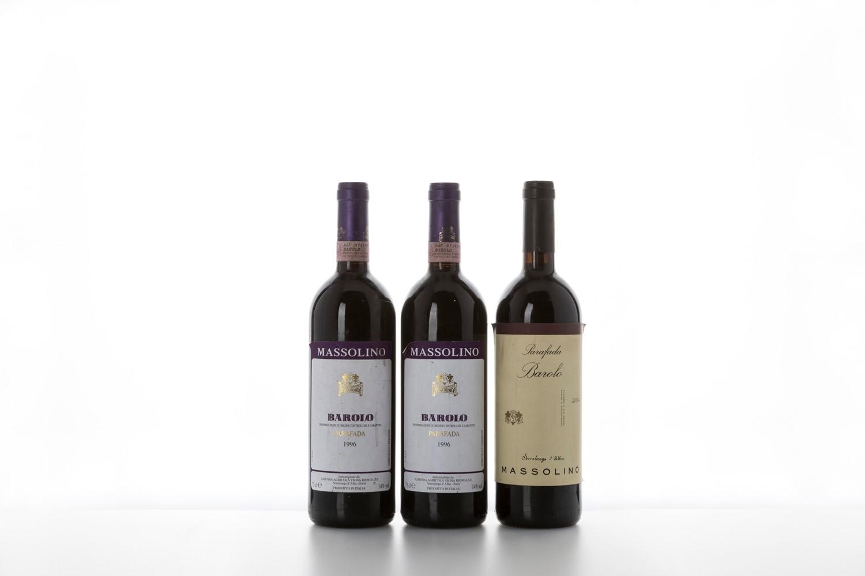 Barolo / Massolino Parafada - Piemonte - 1996 (2 bts) 2004 (1 bt) Tot: 3 bts -