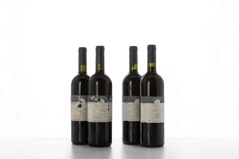 Super Tuscan / Fattoria Le Pupille Saffredi - Toscana - 1995 (2 bts) 1997 (2 [...]