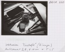 Raoul Hausmann (1886-1971) - Untitled (Pencils and inkwell), years 1930 - Gelatin [...]
