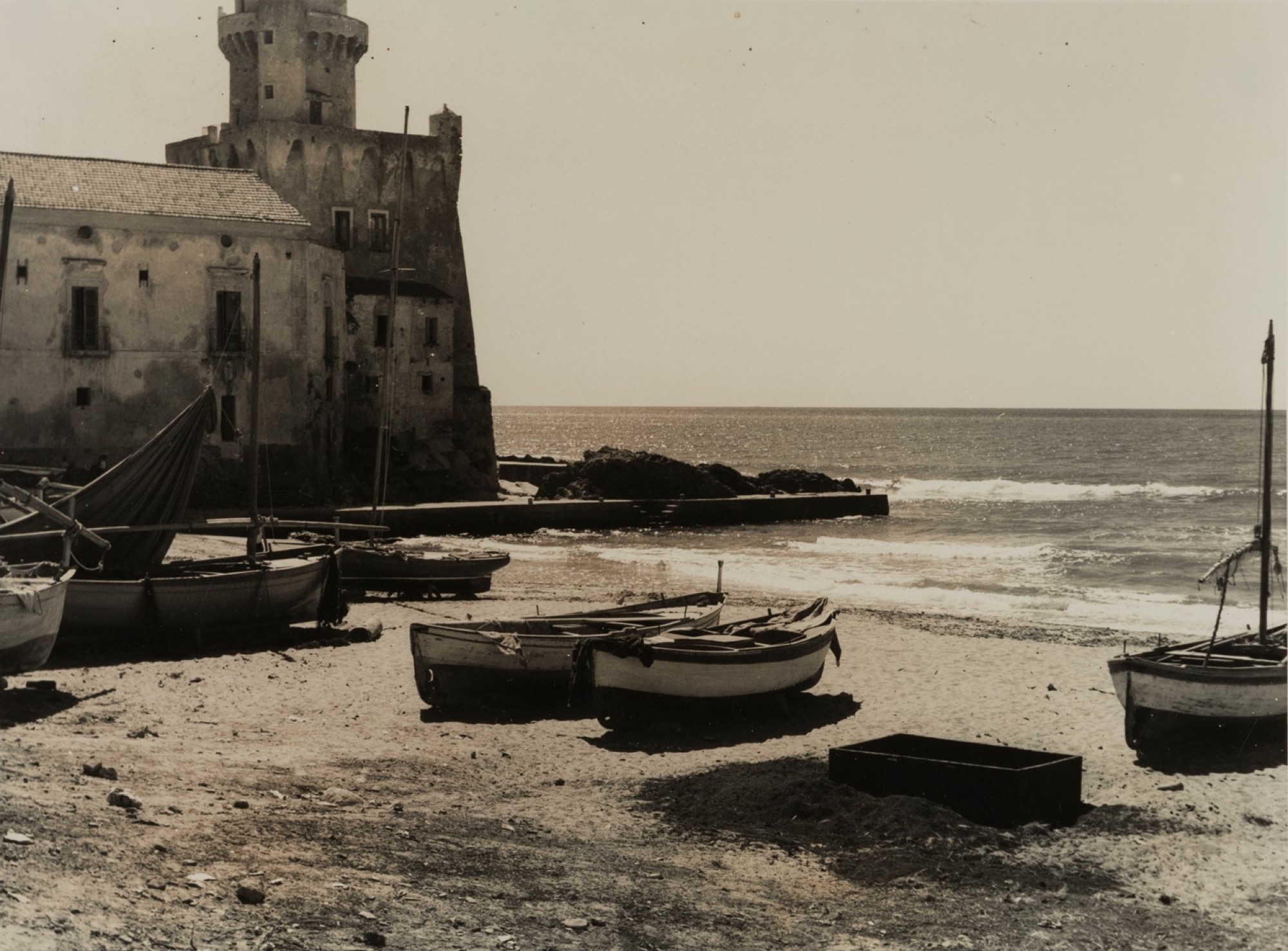 Giulio Parisio - Landscapes, years 1930/1940 - Eight vintage gelatin silver prints [...] - Image 8 of 9