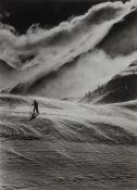 Riccardo Moncalvo (1915-2008) - Sestrières, 1946 - Gelatin silver print, printed [...]