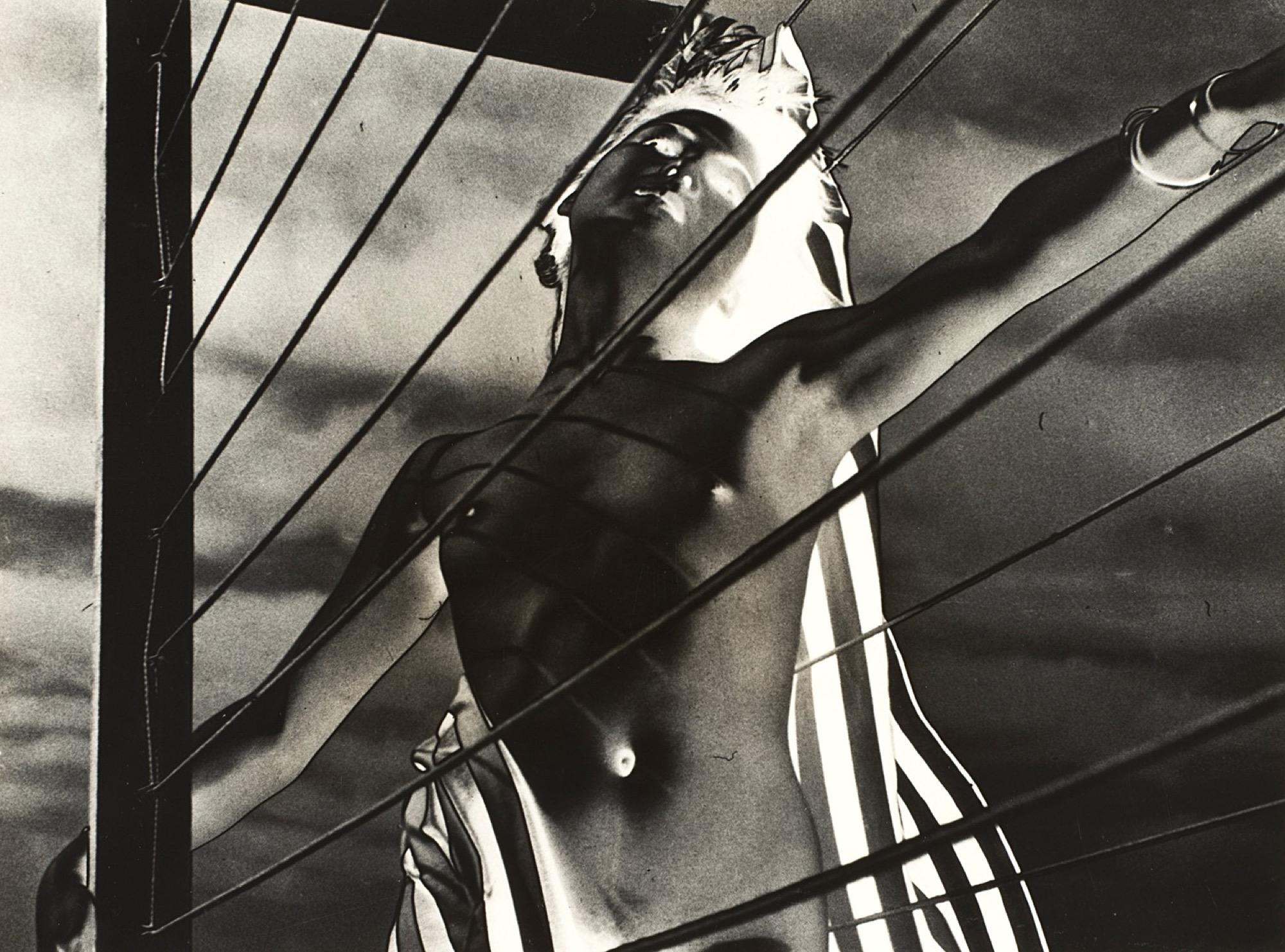 Paul Heismann (1912) - Experimental nude, years 1930 - Gelatin silver print, printed [...]