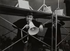 Giovanni Battista Poletto (1915-1988) - Federico Fellini, years 1960 - Vintage [...]
