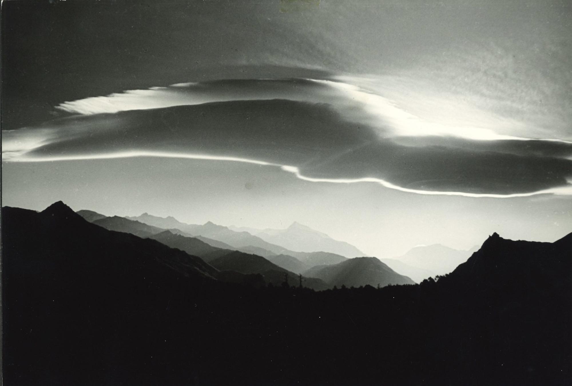 Riccardo Moncalvo (1915-2008) - L'imbocco della Valle di Susa, 1937 - Gelatin silver [...]