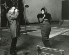 Pierluigi Praturlon (1924-1999) - Federico Fellini and Sandra Milo, years 1960 - [...]
