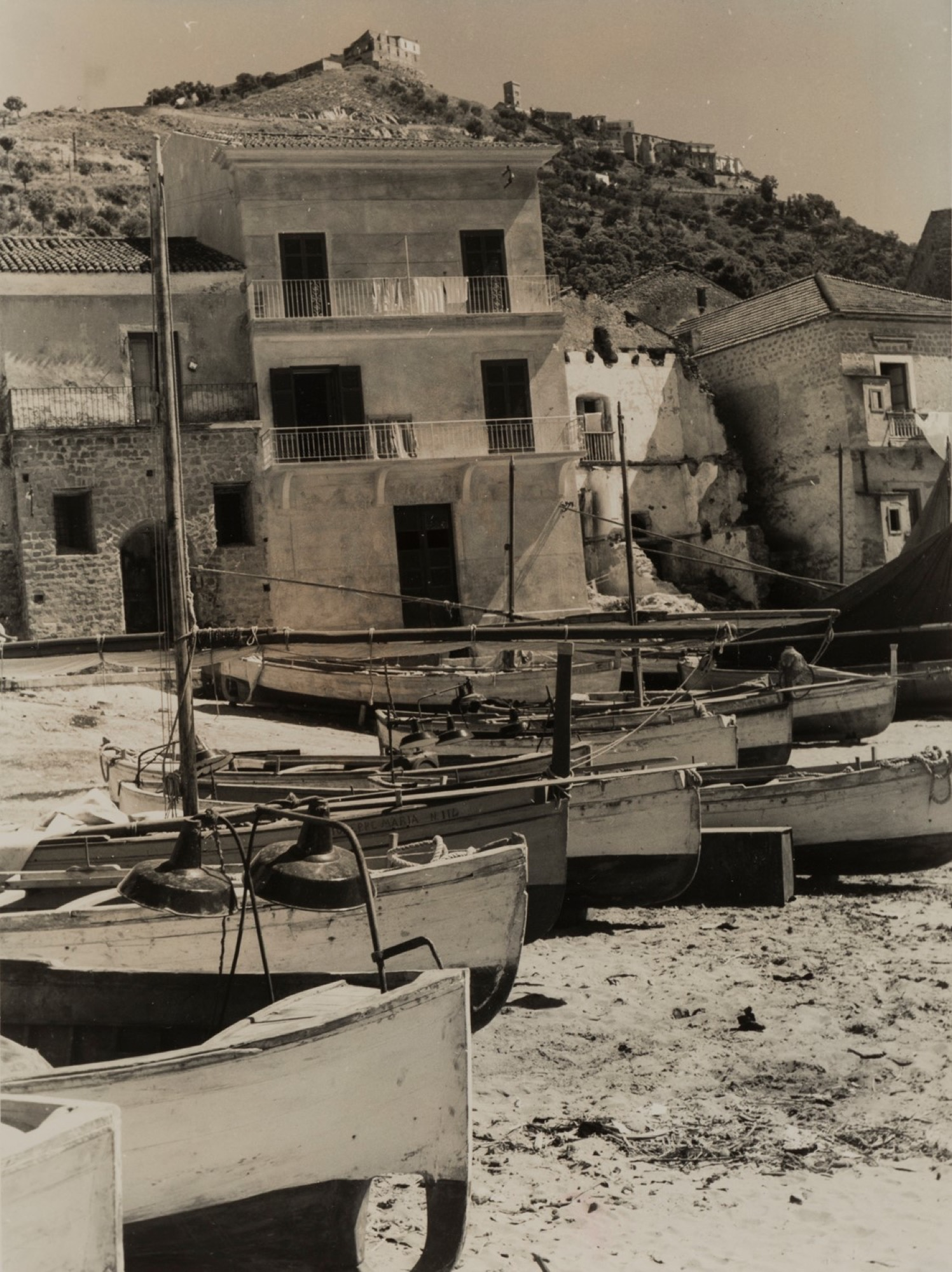 Giulio Parisio - Landscapes, years 1930/1940 - Eight vintage gelatin silver prints [...] - Image 5 of 9