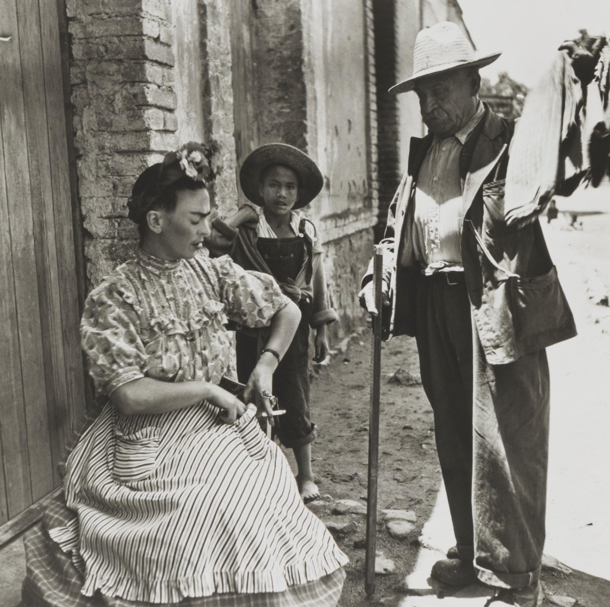 Leo Matiz (1917-1998) - Frida Kahlo VIII, years 1940 - Gelatin silver print, printed [...]
